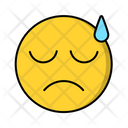 Tired Emotion Emoticon Icon