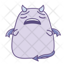 Tired Disappointed Sad Icon