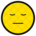Tired Exhausted Face Icon