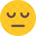 Tired Emoji Smiley Icon