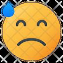 Tired Face Emoji Icon