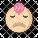 Tired Emoji Amazed Icon