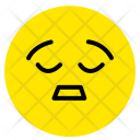 Tired Smiley Face Icon