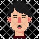 Tired Boy Sleepy Sleep Icon