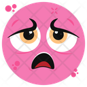 Tired Emoji Emoticon Emotion Icon