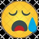 Tired Emoticon Icon
