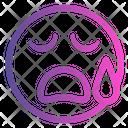 Tired Emoticon Cute Emoji Icon