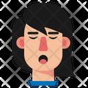 Girl Avatar Tired Girl Icon