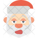 Christmas Father Santa Icon