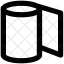 Tissue Roll Paper Icon