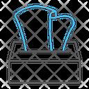 Tissue Napkin Box Icon