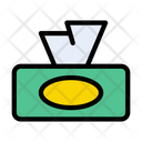 Tissue Paper Cleaning Icon