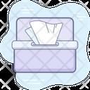 Coronavirus Prevention Tissue Icon