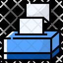 Tissue Paper Box Icon