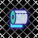 Wc Toilet Paper Icon