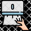 Tissue Paper Hygiene Icon
