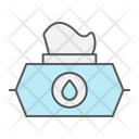 Wet Wipe Wipes Icon