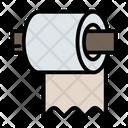 Bathroom Hygiene Tissueroll Icon