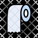 Tissue Roll Toilet Icon