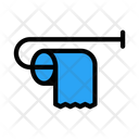 Tissue Toilet Cleaning Icon