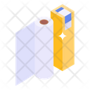 Tissue Roll Office Supplies Archive Icon