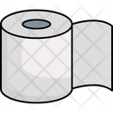 Tissue Roll Bathroom Cleaning Icon