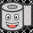 Tissue Roll Emoji Tissue Paper Emoji Emoticon Icon