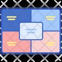 Titled Matrix Icon