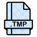 Tmp File File Extension Icon
