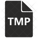 Tmp File Format Icon