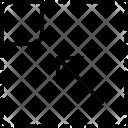 To Left Corner Icon