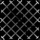 To Right Corner Icon