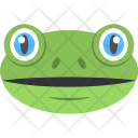 Toad Face Frog Icon