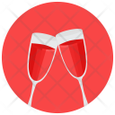 Toast Drink Alcohol Icon