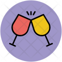 Toast Glass Cheers Icon