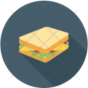 Toast Bread Sandwich Icon