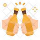 Toast Beers Bottle Icon