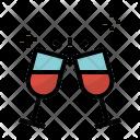 Wine Food Toast Icon