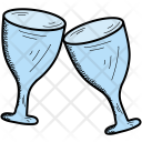 Toast Drink Glass Icon