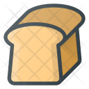 Toast Bread Food Icon