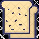 Bread Slice Toast Bread Icon