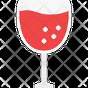 Toasting Cheers Wine Glass Icon