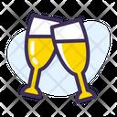 Celebration Party Champagne Icon