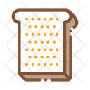 Toast Sliced Bread Icon