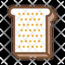 Toast Sliced Bread Icon