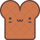 Toast Bread Pastry Icon