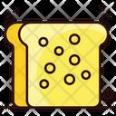 Toast Bread Slice Icon