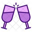 Wine Drink Wedding Icon