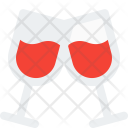 Wine Toast Drink Icon