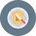 Bread Slice Toast Icon